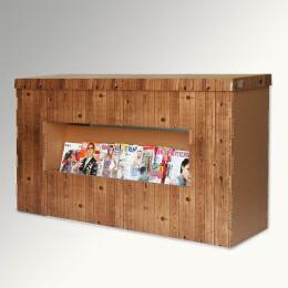 Desk in cartone