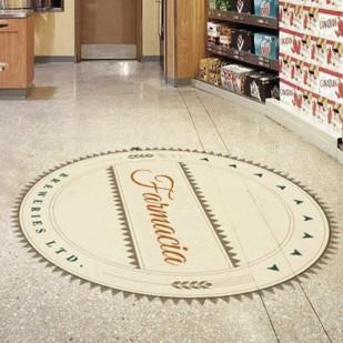 Adesivo Calpestabile da pavimento