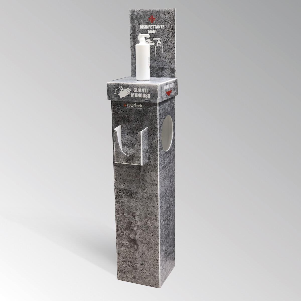 Colonnina cemento