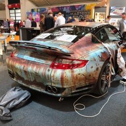 Porsche Wrapping