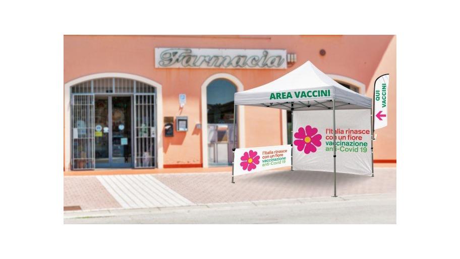 Gazebo per vaccinazione SARS COV-19